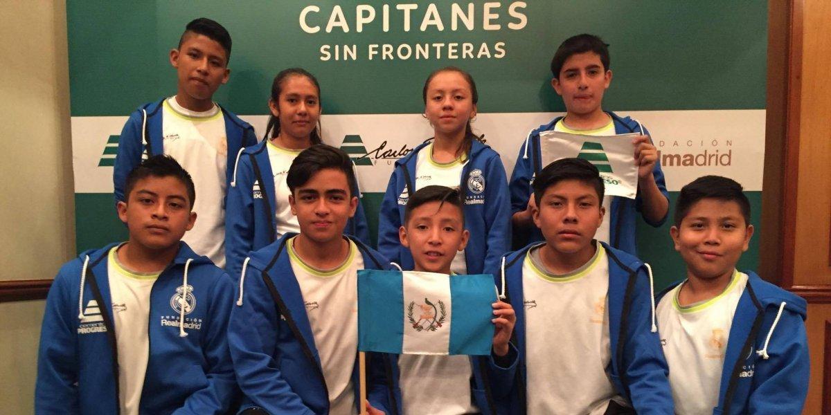 Niños cumplirán su sueño de ver jugar al Real Madrid ¡Qué orgullo!