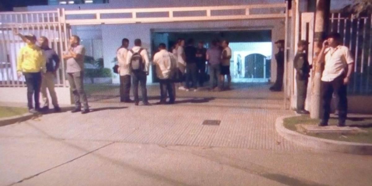 Asaltaron casa frente a la residencia del alcalde de Barranquilla
