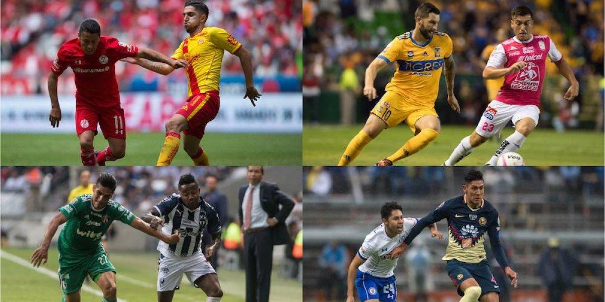 Quedan definidas fechas y horarios de los cuartos de final del Apertura 2017