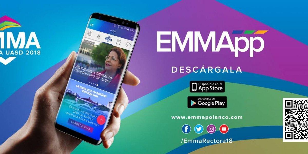 Emma Polanco lanza aplicación EmmApp