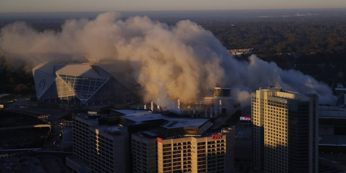 VIDEO: Histórico Georgia Dome de Atlanta fue demolido