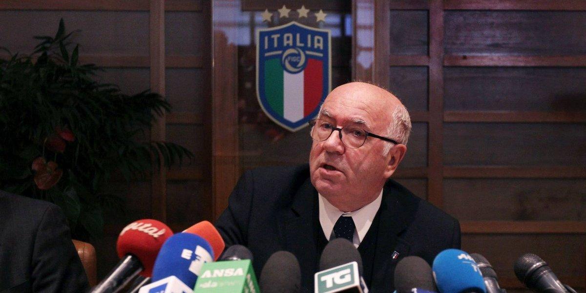 Renunció el presidente de Federación Italiana — Asume el fracaso