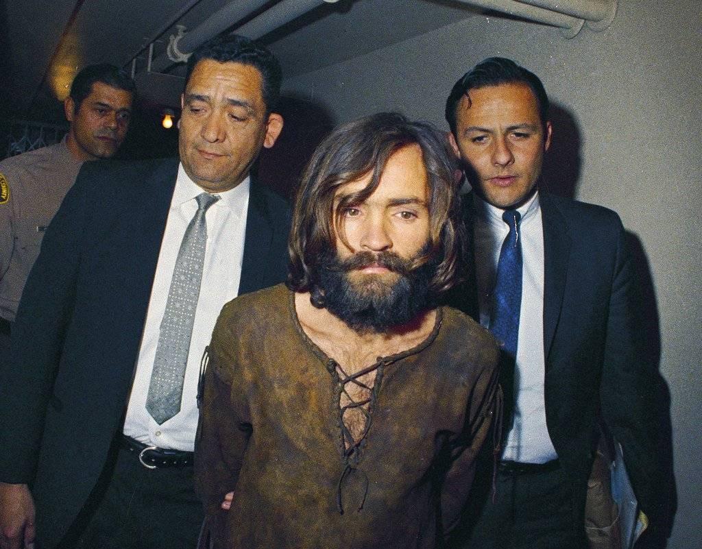 Charles Manson, detenido