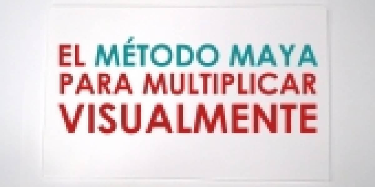 El método maya para multiplicar visualmente