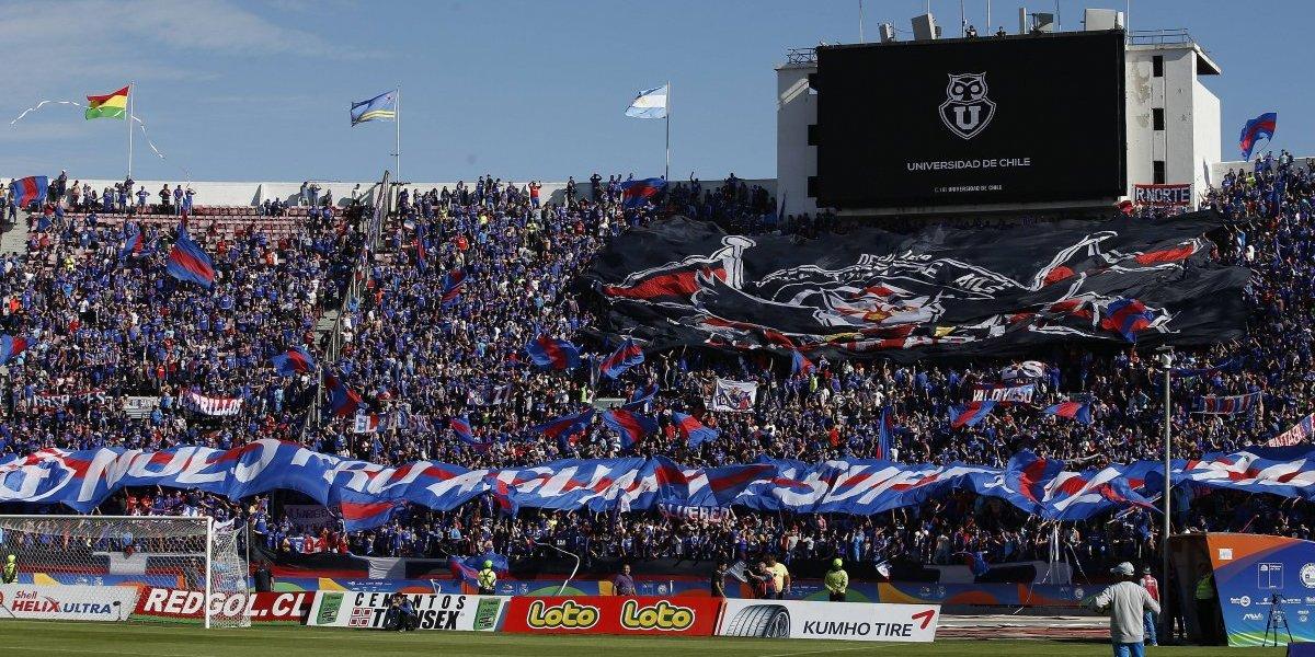 A estadio lleno: La U pone a la venta la totalidad del aforo del Nacional ante Audax