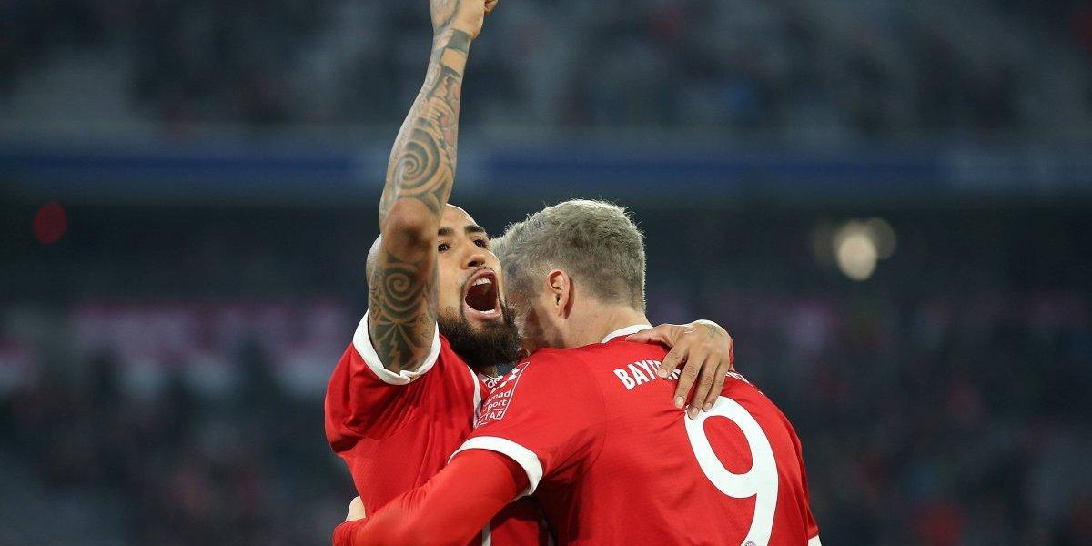 Así vivimos el triunfo del Bayern sobre el Eintracht gracias al gol de Arturo Vidal