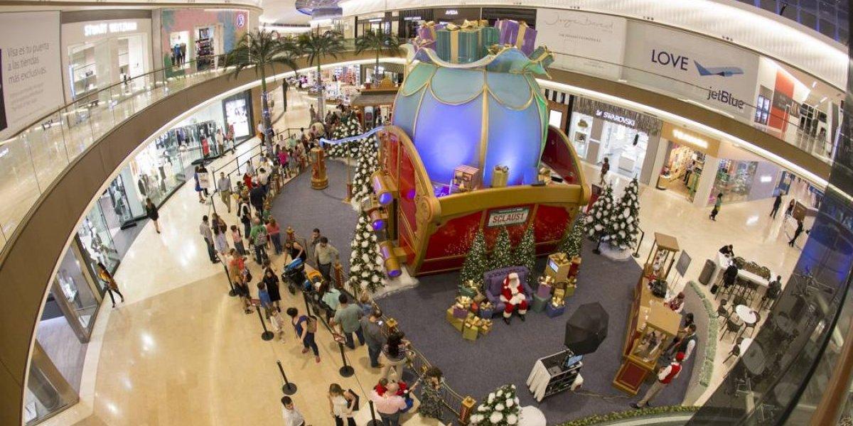 En este centro comercial podrán retratar a sus niños con Santa gratis