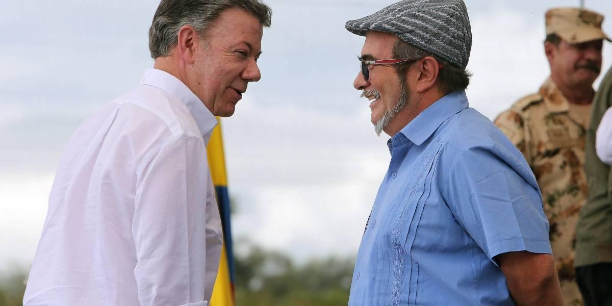 Santos y Farc discrepan sobre estado de implementación de la paz