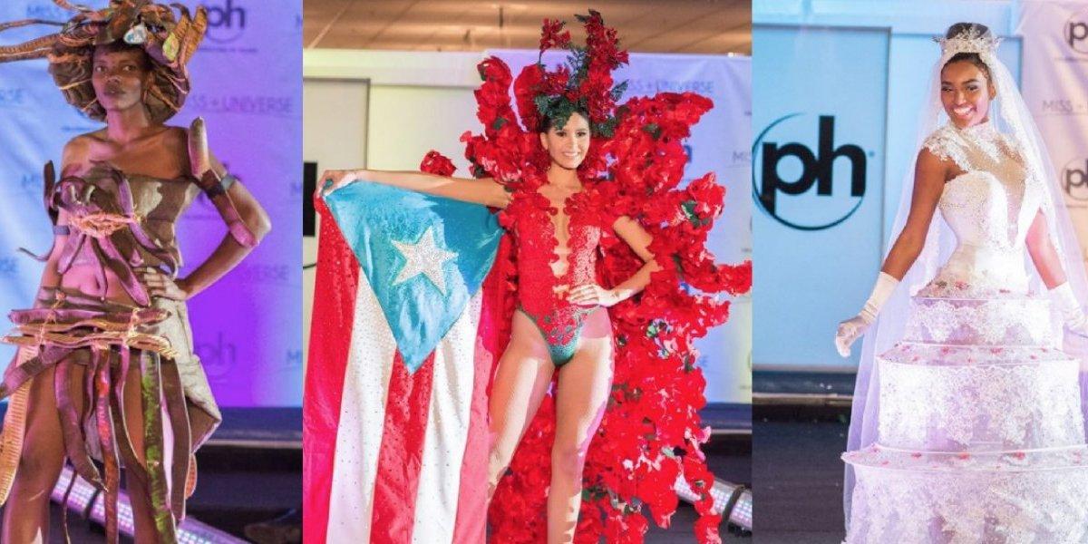 Reina la creatividad y lo ridículo en Miss Universo 2017