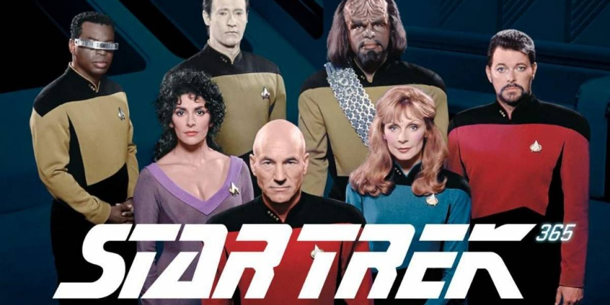 Star Trek: The Next Generation podrá disfrutarse a través de la pantalla de SyFy