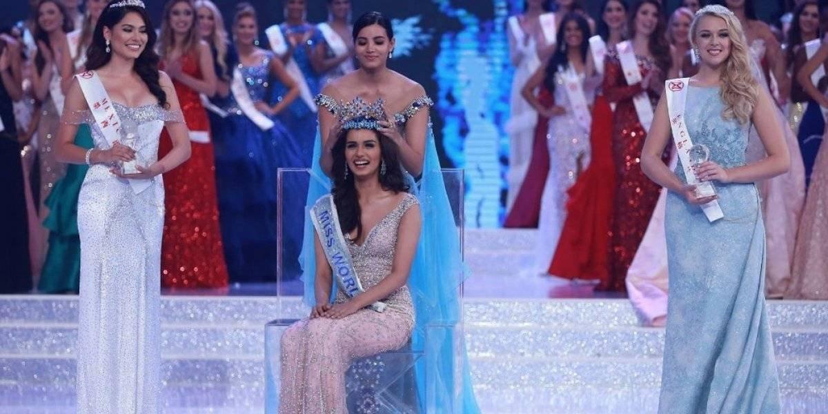 Manushi Cchillar Miss Mundo 2017
