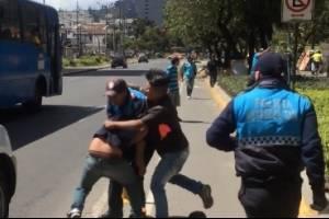 Enfrentamiento entre Policía Metropolitana y ciudadanos se hace viral