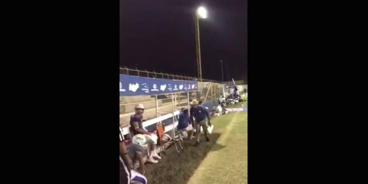 VIDEO: Tiroteo cerca de estadio suspende juego de futbol americano en Sonora