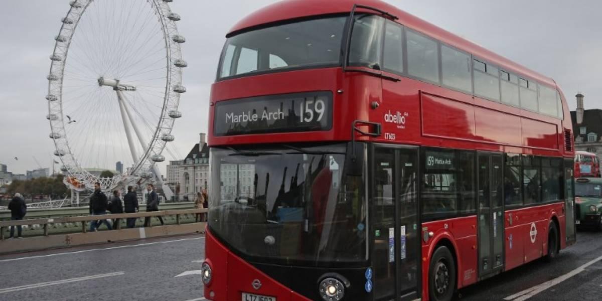 Café, el nuevo combustible que utilizan los emblemáticos autobuses de Londres