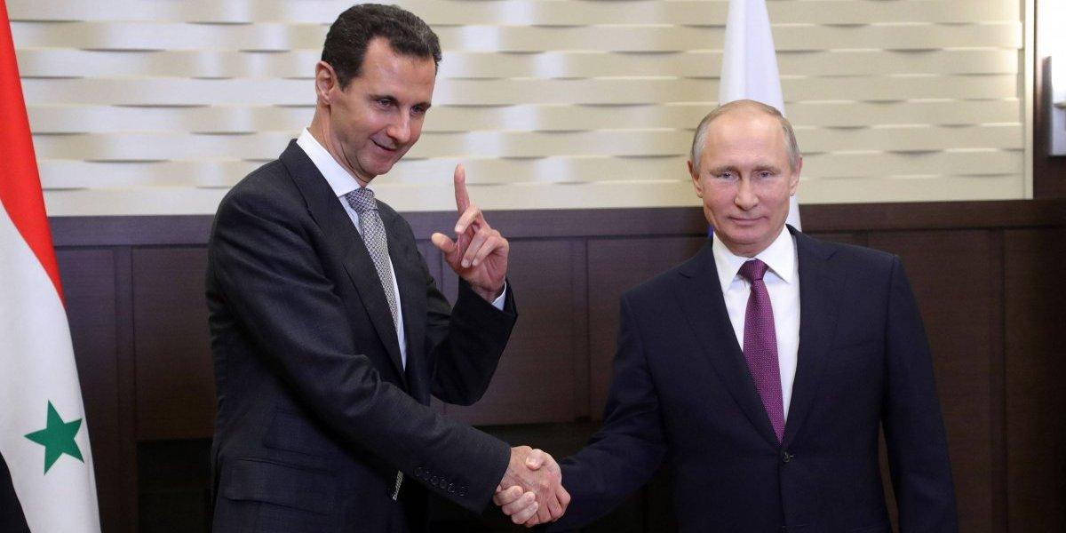 Putin elogia el éxito militar de Al Asad en reunión previa a la cumbre sobre Siria
