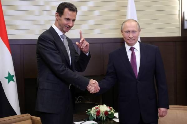 Putin Al Asad