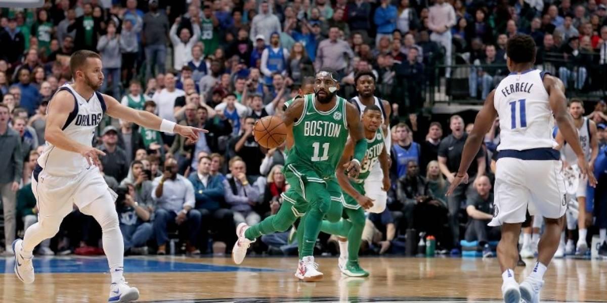 NBA: Kyrie Irving brilla en el triunfo de los Celtics que alcanzaron un espectacular récord