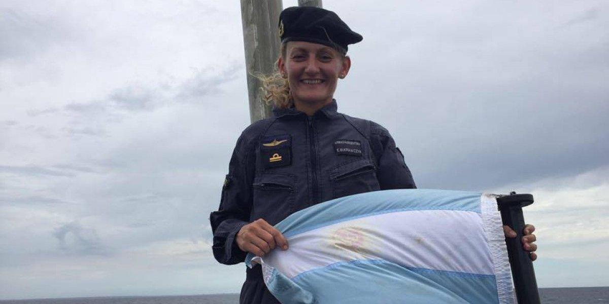 ¿Quién es Eliana Krawczyk? La única mujer a bordo del submarino desaparecido