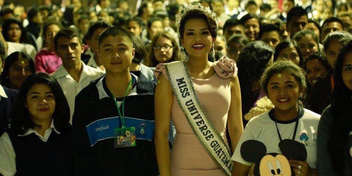 Isel Suñiga revela en video de Miss Universo que desea ser alcaldesa de Ayutla, San Marcos