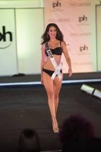 Danna en la preliminar Miss Universo
