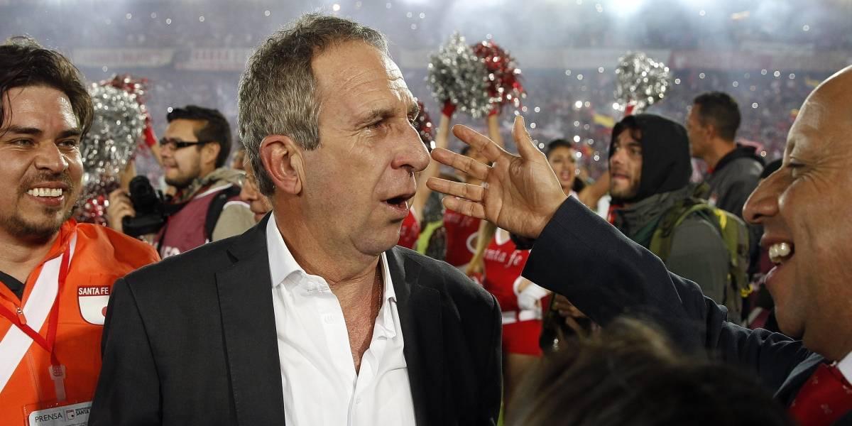 Gerardo Pelusso habló de su conflicto con Omar Pérez en Independiente Santa Fe