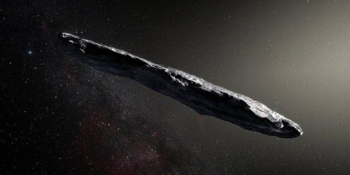 Cómo es el extraño y primer asteroide de otro sistema solar que visita la Tierra