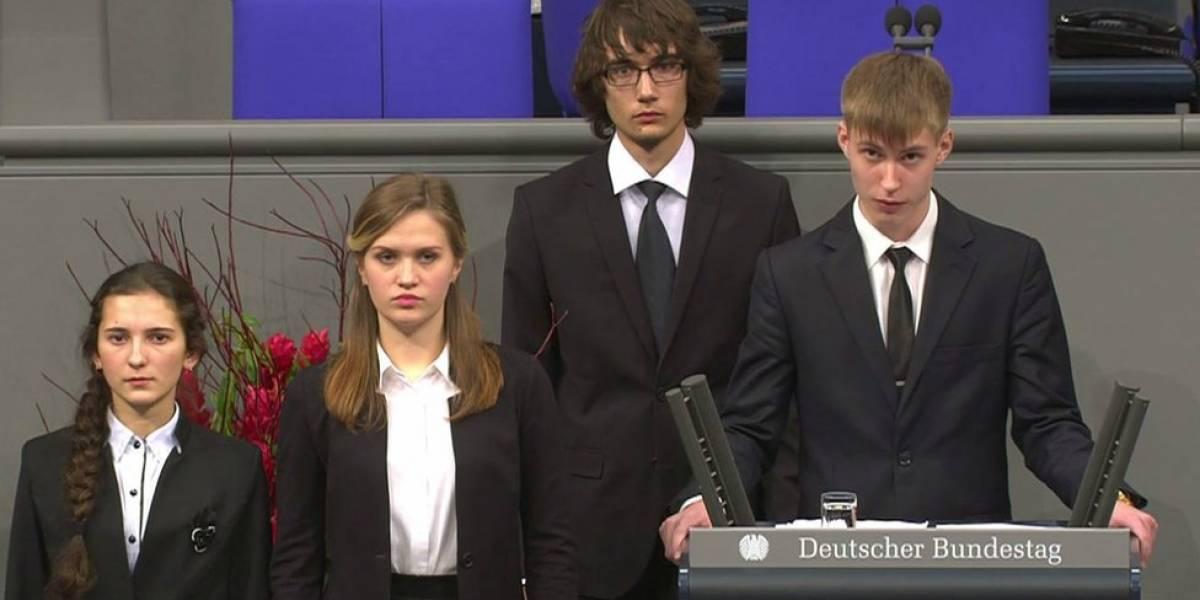 El adolescente ruso que recibió amenazas por sugerir que algunos soldados alemanes fueron víctimas de la Segunda Guerra Mundial