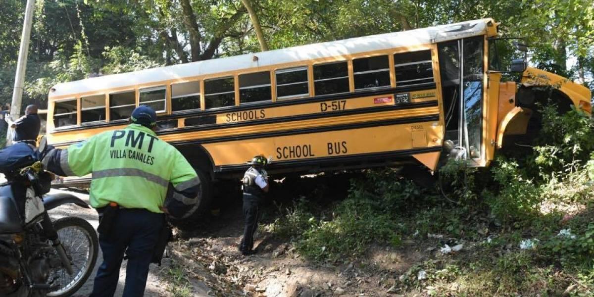 "Pasajero de bus accidentado: ""Nos quedamos sin frenos, todos iban gritando"""