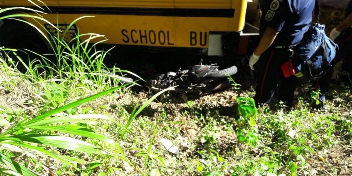 Motorista fallece tras ser arrollado por autobús que se habría quedado sin frenos