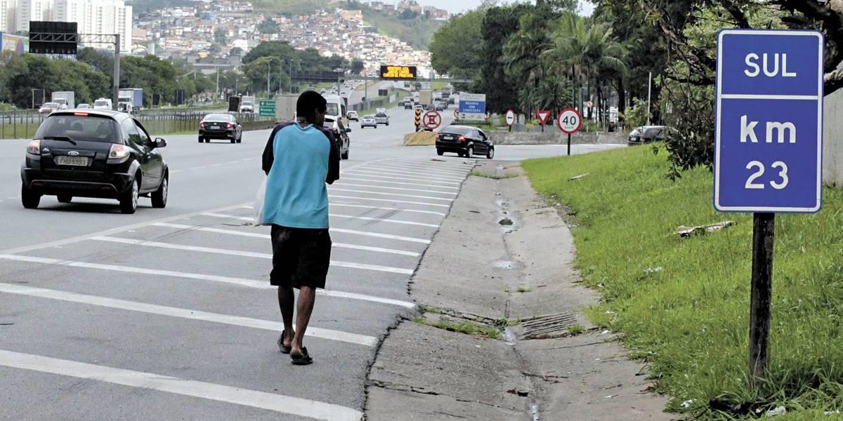 Rodovias que cortam o ABC são as mais fatais para pedestres
