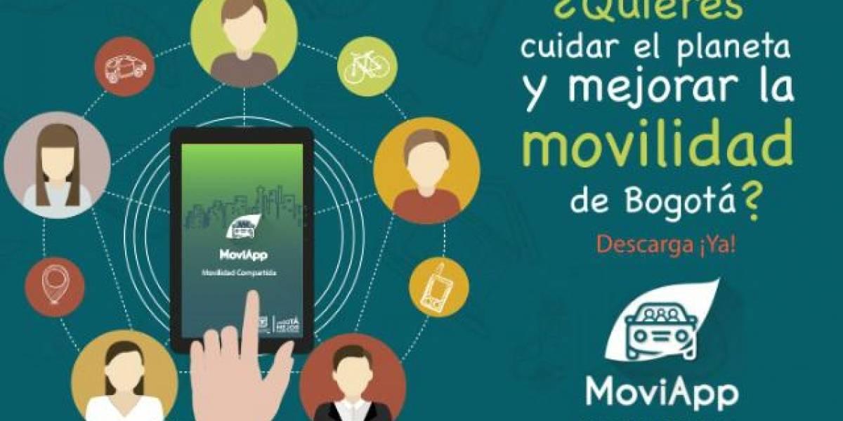 Con esta aplicación se promueve el uso de carro compartido