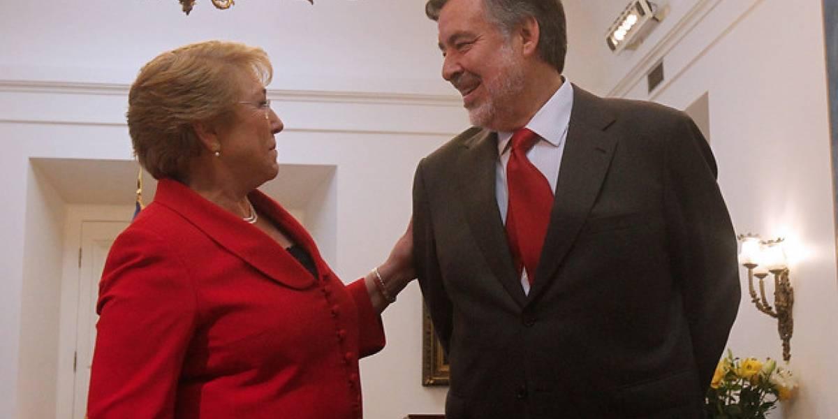 Guillier agradece apoyo de la DC para la segunda vuelta y se reúne con Bachelet en La Moneda