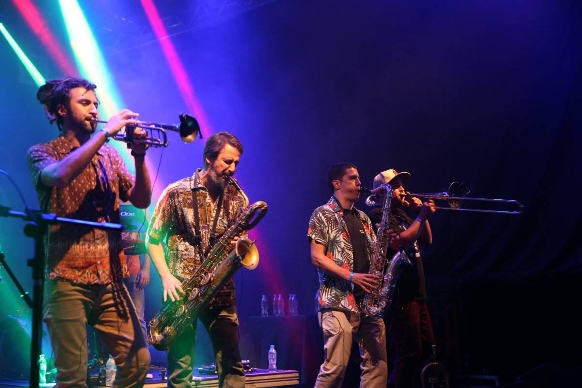 Banda se caracteriza uma mistura de jazz e ritmos latinos Rafael Merino/Metro Jornal