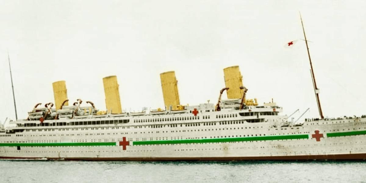 """El día en que la """"maldición del Titanic"""" alcanzó a su hermano gemelo: el hundimiento del HMHS Britannic"""