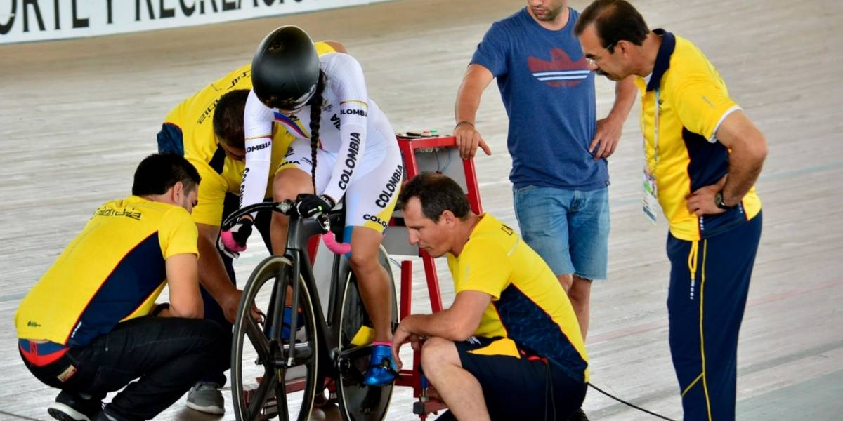 ¡Oro para Mariana Pajón en la pista de los Juegos Bolivarianos!