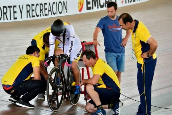 En vivo Mariana Pajón en su prueba de ciclismo