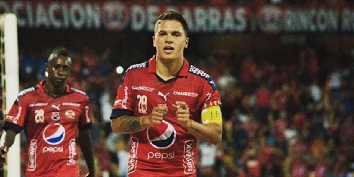 Juan Fernando Quintero se despide del Independiente Medellín