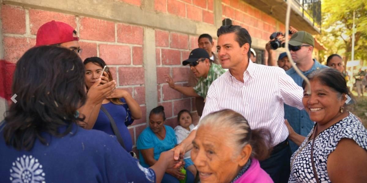 Aprobación de Peña Nieto aumenta después de los sismos