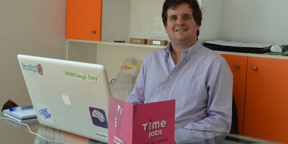 Chilenos crean Time Jobs: la primera red social para buscar trabajos part time