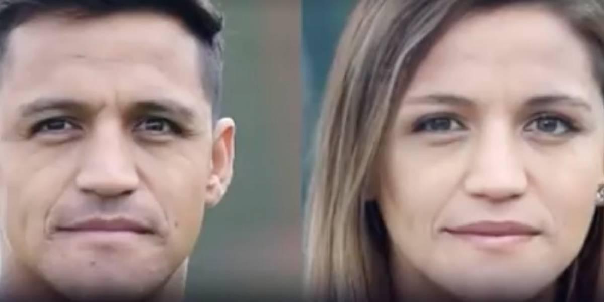 De Alexis a Messi: así se ven las estrellas del fútbol si fueran mujeres