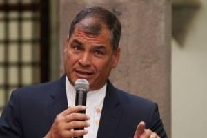 Rafael Correa respondió al reto de Lenín Moreno
