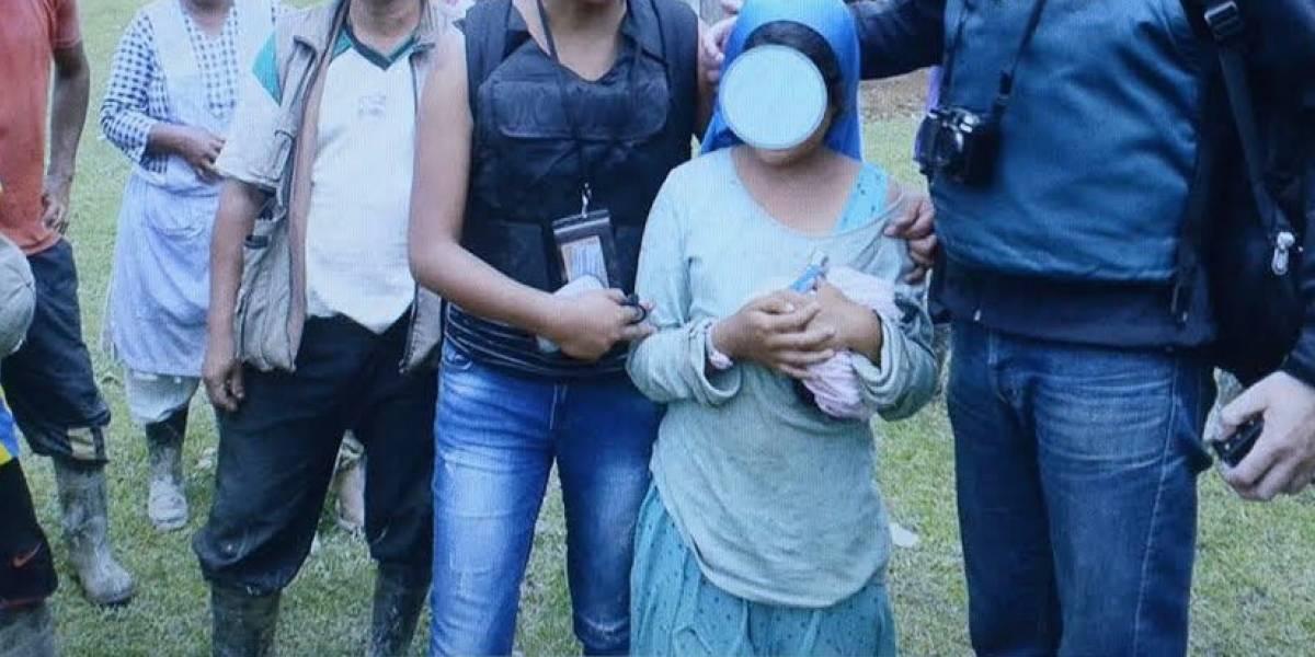 Liberan a niña secuestrada en el departamento de Nariño