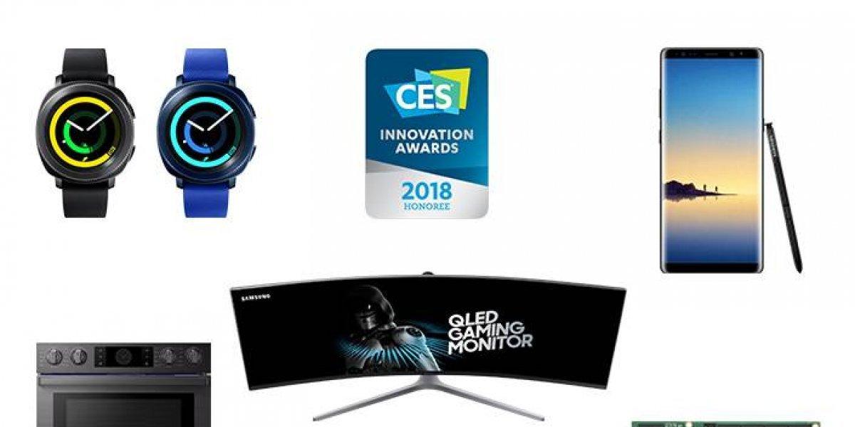 Samsung gana 36 Premios de Innovación de la CES 2018