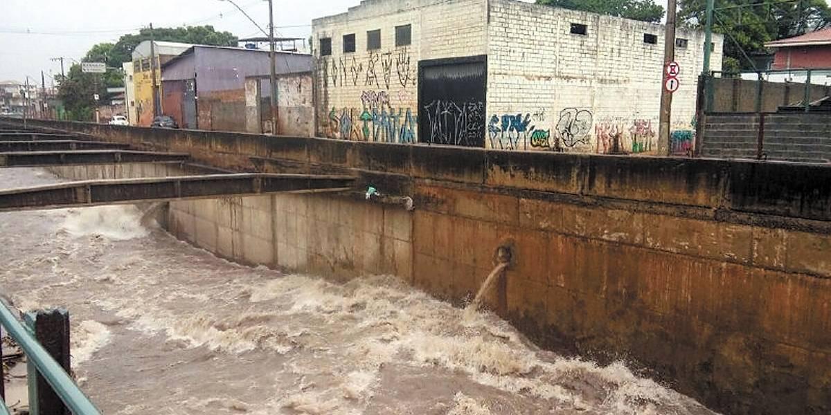 Chuvas continuam em todo o Estado de Minas Gerais até o fim da semana
