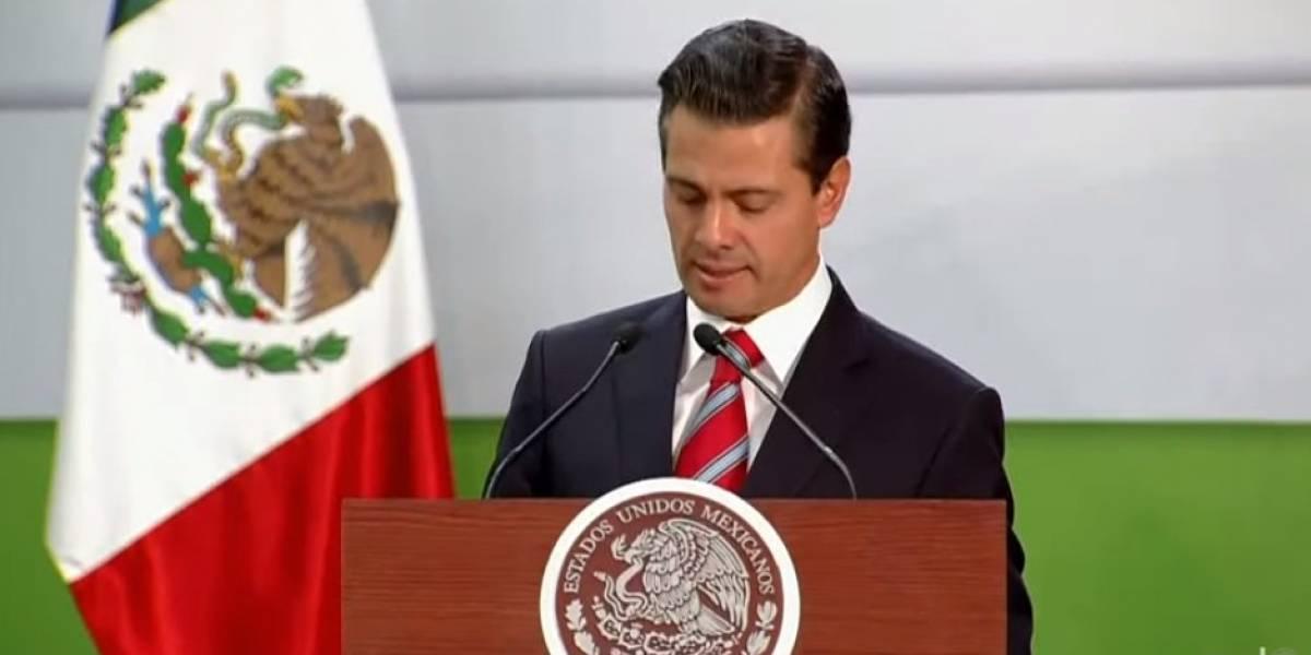 Peña Nieto recibe al presidente de Eslovaquia en visita histórica