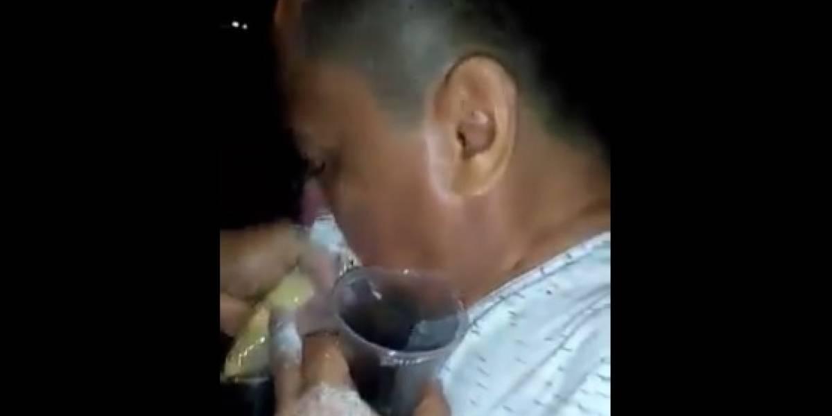 Filtran video de supuesto funcionario de la alcaldía de Malambo consumiendo cocaína