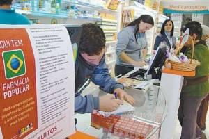 Para cortar custos, governo quer mudar Farmácia Popular