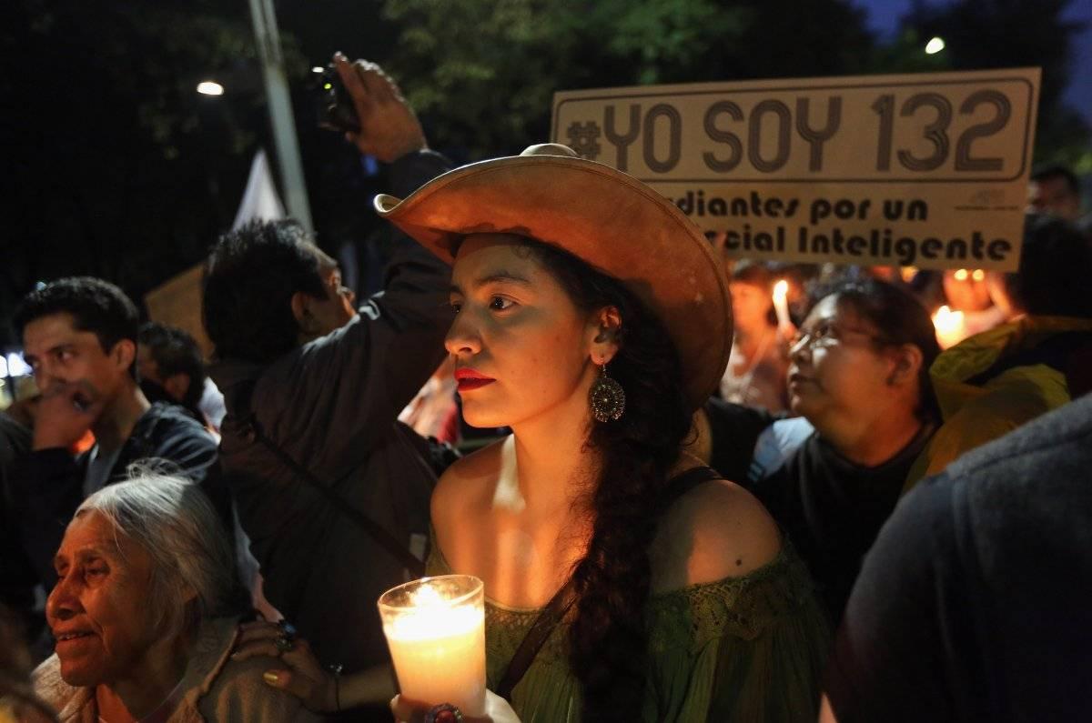 El movimiento #YoSoy132 en México. |getty