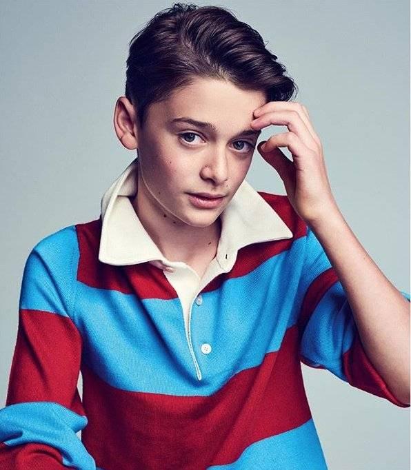 Noah Schnapp para Gucci