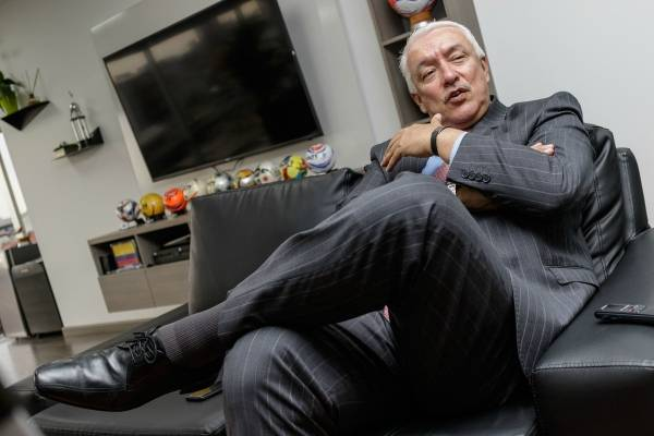 Jorge Perdomo, presidente de la Dimayor